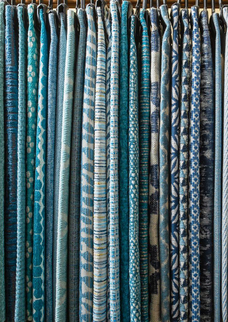 Hanging Fabrics - Blue